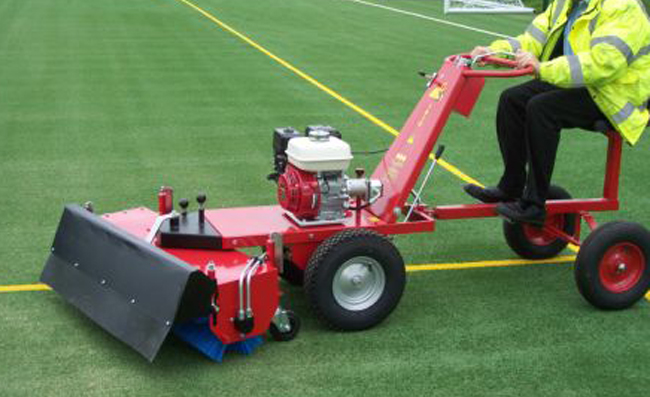 A Power-brush for 3G and astroturf pitch maintenance